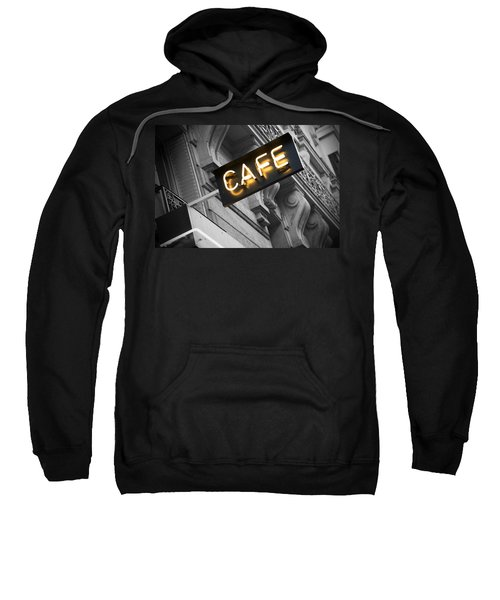 Cafe Sign Sweatshirt