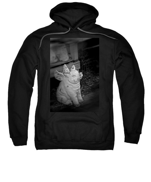 Can A Pig Fly? Sweatshirt