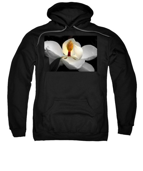 Candle In The Wind Sweatshirt by Karen Wiles