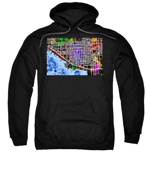 Canton Map Sweatshirt