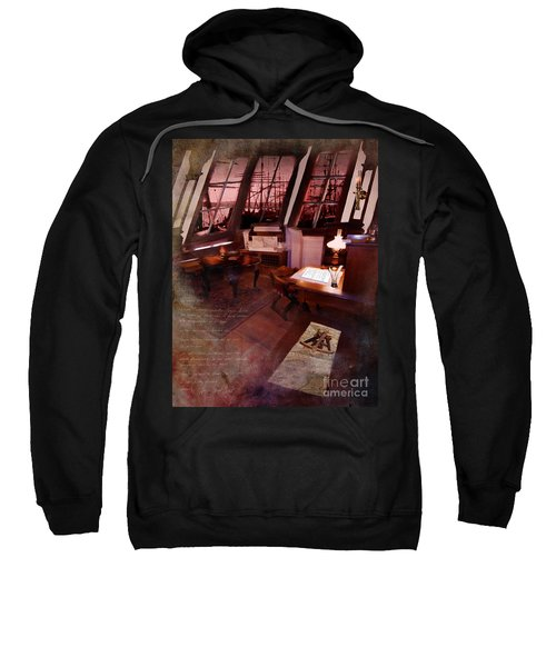 Captain's Cabin On The Dicey Sweatshirt