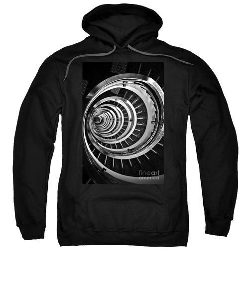 Time Tunnel Spiral Staircase In Sao Paulo Brazil Sweatshirt