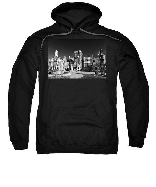 Casa Loma In Toronto In Black And White Sweatshirt