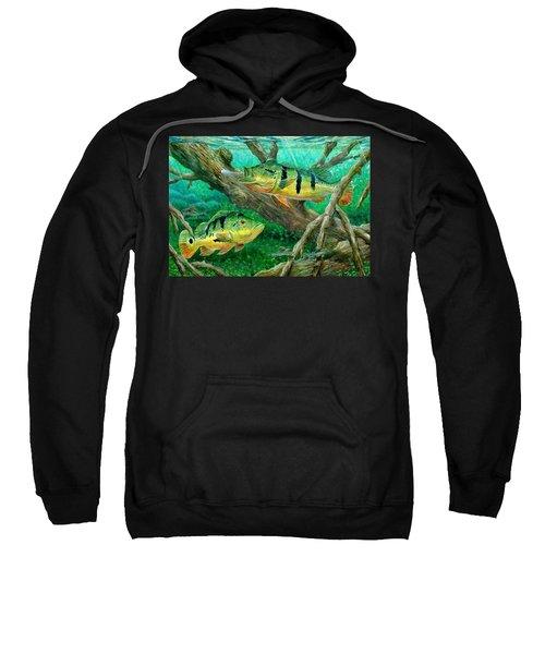 Catching Peacock Bass - Pavon Sweatshirt