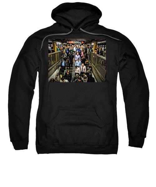 Catching The Subway Sweatshirt