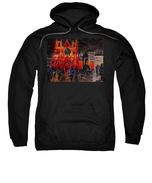 Cathedral Saint Jean-baptiste In Lyon Sweatshirt