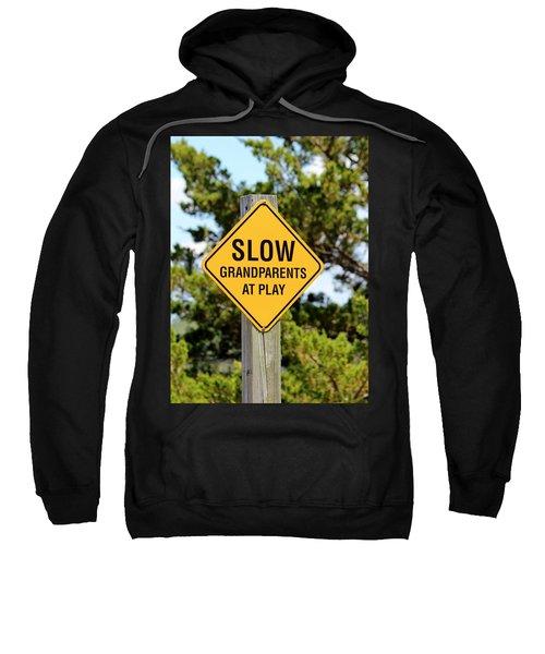 Caution Sign Sweatshirt