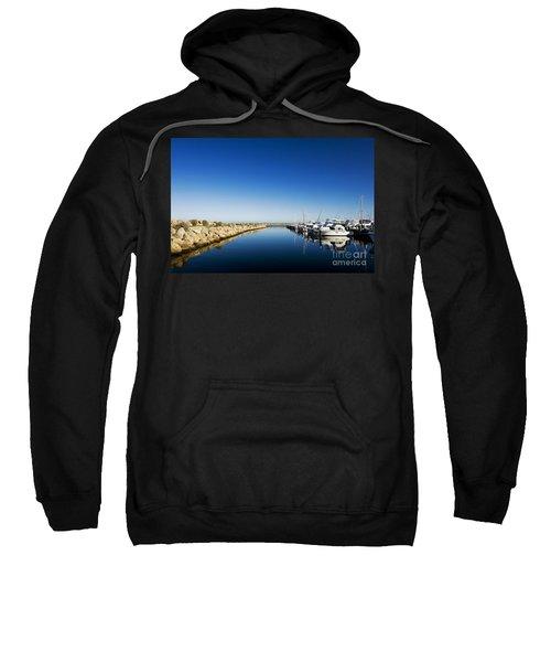 Challenger Harbour Of Fremantle Sweatshirt