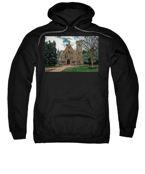 Chapel At University Of Virginia Sweatshirt