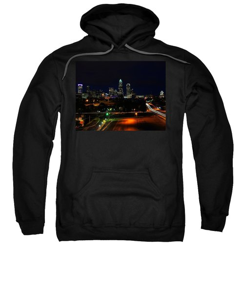 Charlotte Nc At Night Sweatshirt