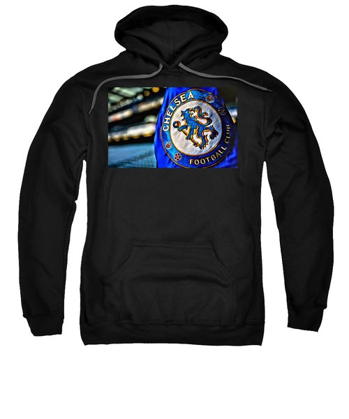 Chelsea Football Club Poster Sweatshirt