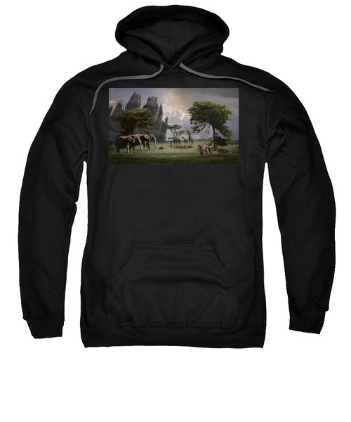 Cherish Our Earth's Creatures Sweatshirt