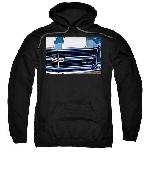 Chevrolet Chevelle Ss Grille Emblem 2 Sweatshirt