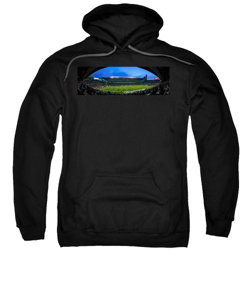 Chicago Bears At Soldier Field Sweatshirt by Steve Gadomski