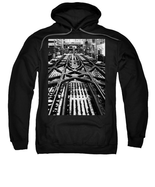 Chicago 'l' Tracks Winter Sweatshirt