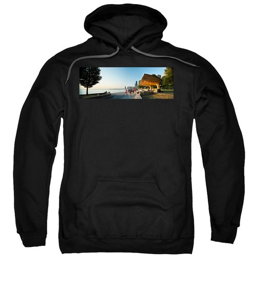 Chicago Lakefront Panorama Sweatshirt