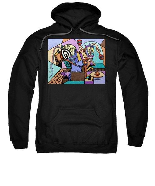 Chilli Pepper Mexican Dancing Horse Sweatshirt