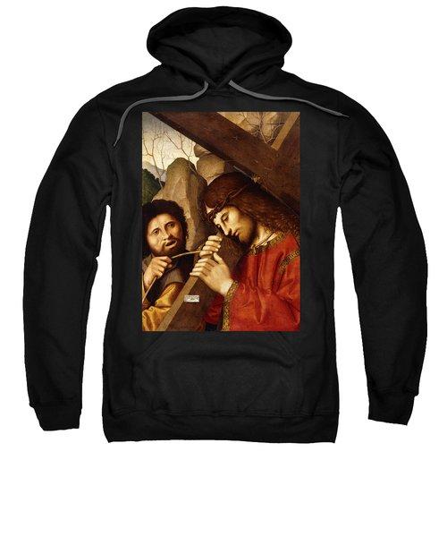 Christ Carrying The Cross Sweatshirt