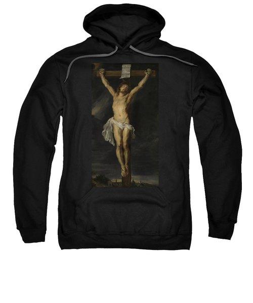 Christ Crucified Sweatshirt