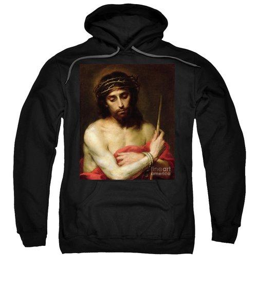 Christ The Man Of Sorrows Sweatshirt