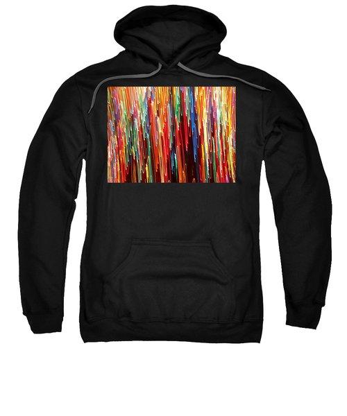 A Rainbow Melting  Sweatshirt