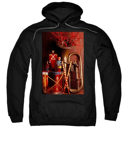 Christmas Tuba Sweatshirt