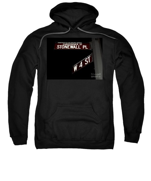 Christopher St-stonewall Pl Sweatshirt