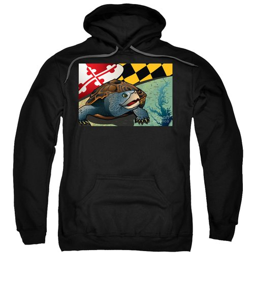 Citizen Terrapin Maryland's Turtle Sweatshirt