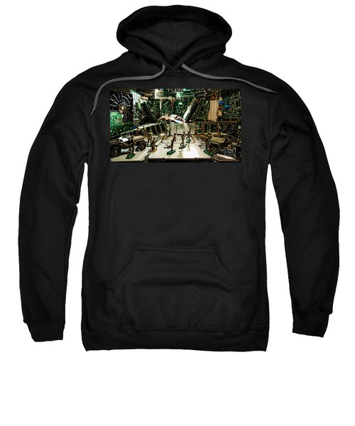 City Cyber Attack  Sweatshirt