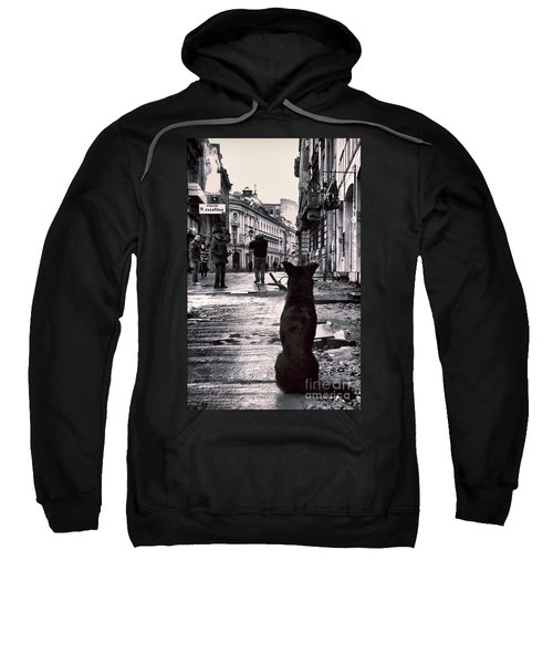 City Streets And The Theory Of Waiting Sweatshirt