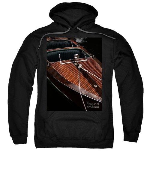 Classic Wooden Power Boat Sweatshirt
