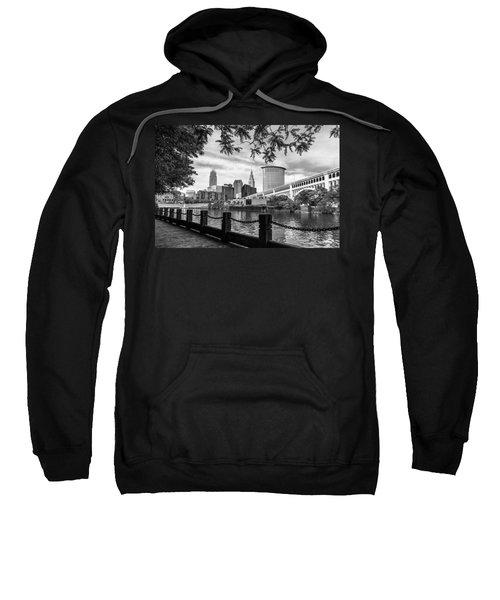 Cleveland River Cityscape Sweatshirt