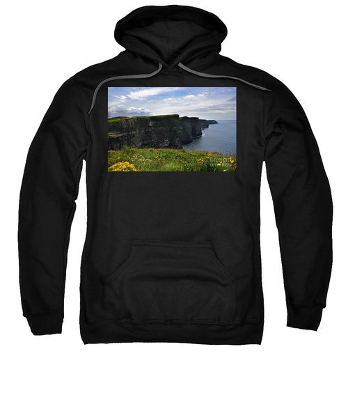 Cliffs Of Moher Looking South Sweatshirt