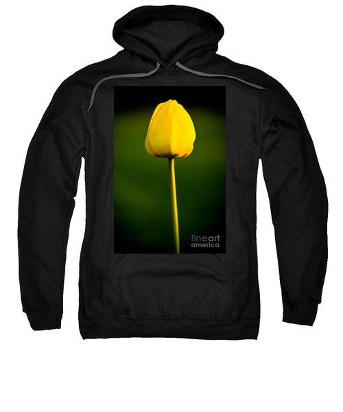 Closed Yellow Flower Sweatshirt