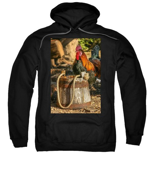 Coloful Rooster 2 Sweatshirt