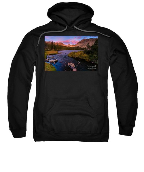 Color Over  Indian Peaks Sweatshirt