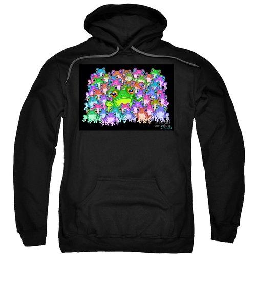 Colorful Froggy Family Sweatshirt