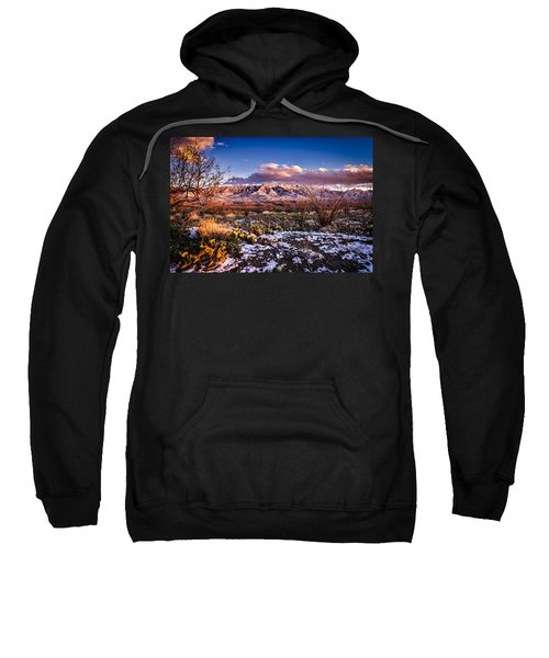 Sweatshirt featuring the photograph Colors Of Winter by Mark Myhaver