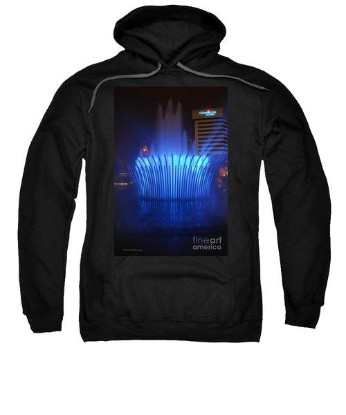 D101l-122 Scioto Mile Fountain Photo Sweatshirt