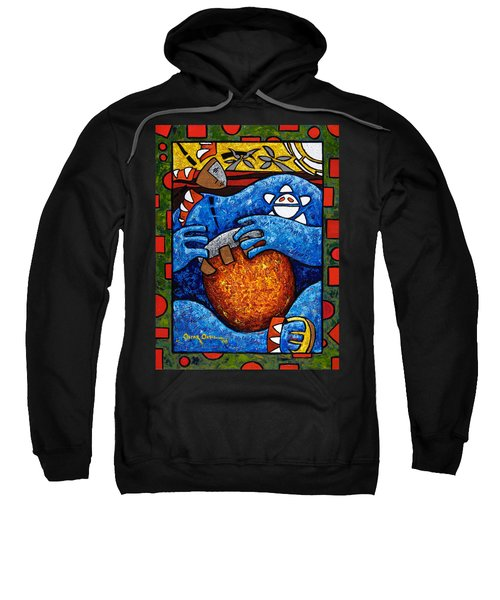 Conga On Fire Sweatshirt