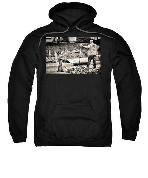 Construction Worker Sweatshirt