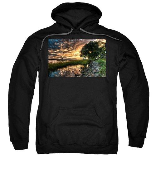 Coosaw Plantation Sunset Sweatshirt