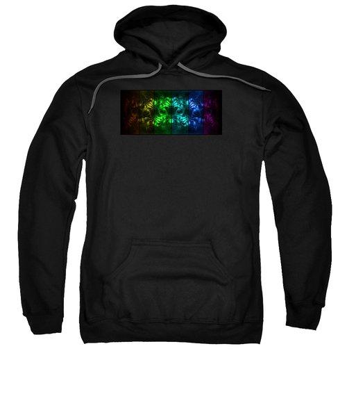 Cosmic Alien Eyes Pride Sweatshirt