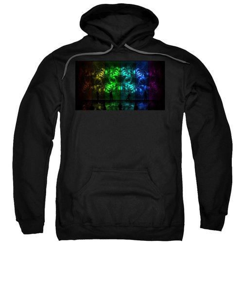 Cosmic Alien Vixens Pride Sweatshirt