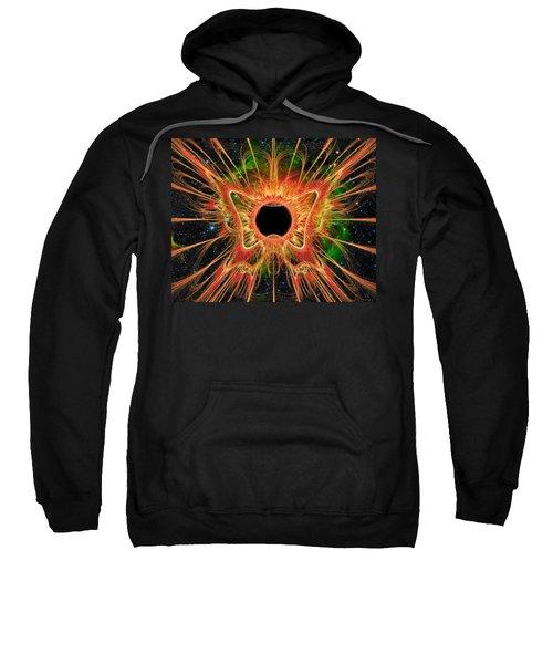Cosmic Butterfly Phoenix Sweatshirt