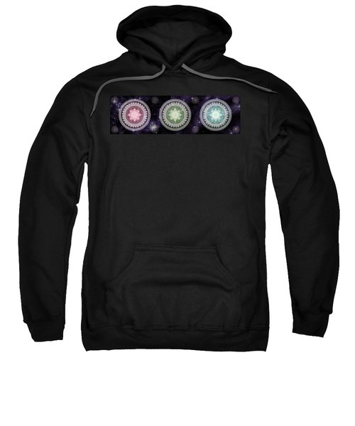 Cosmic Medallians Rgb 2 Sweatshirt