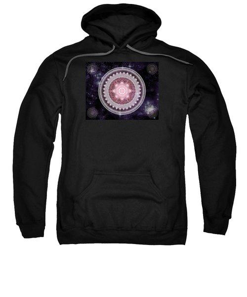 Cosmic Medallions Fire Sweatshirt