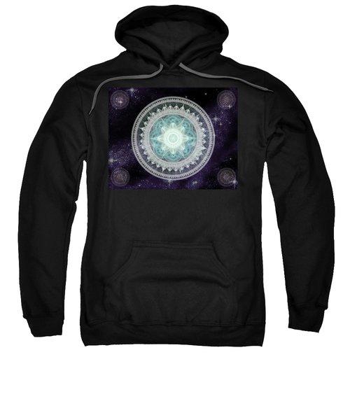 Cosmic Medallions Water Sweatshirt
