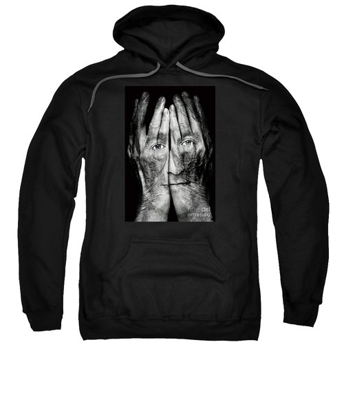 Cover Thy Faces Sweatshirt by Gary Keesler
