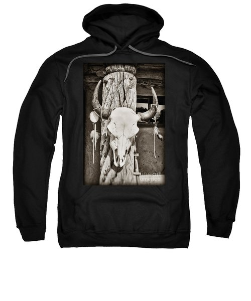 Cow Skull Sweatshirt